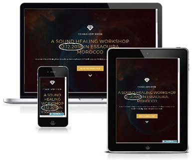 Landing pages and website design in Essaouira, Morocco